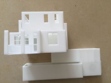 3D Printed Modern House Side