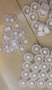 Toy Wheels Urethane Casted