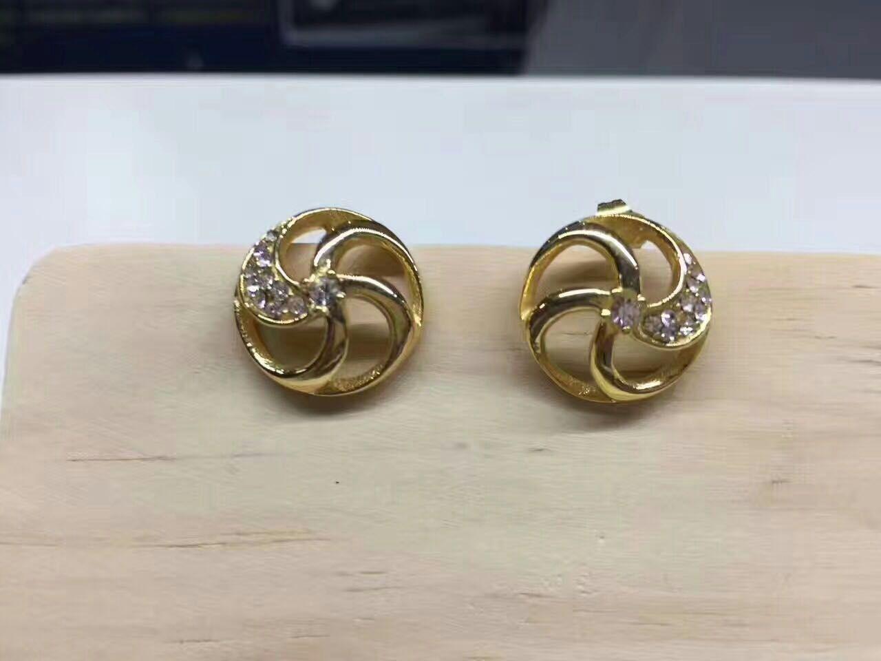 Metal 3D Printing earring