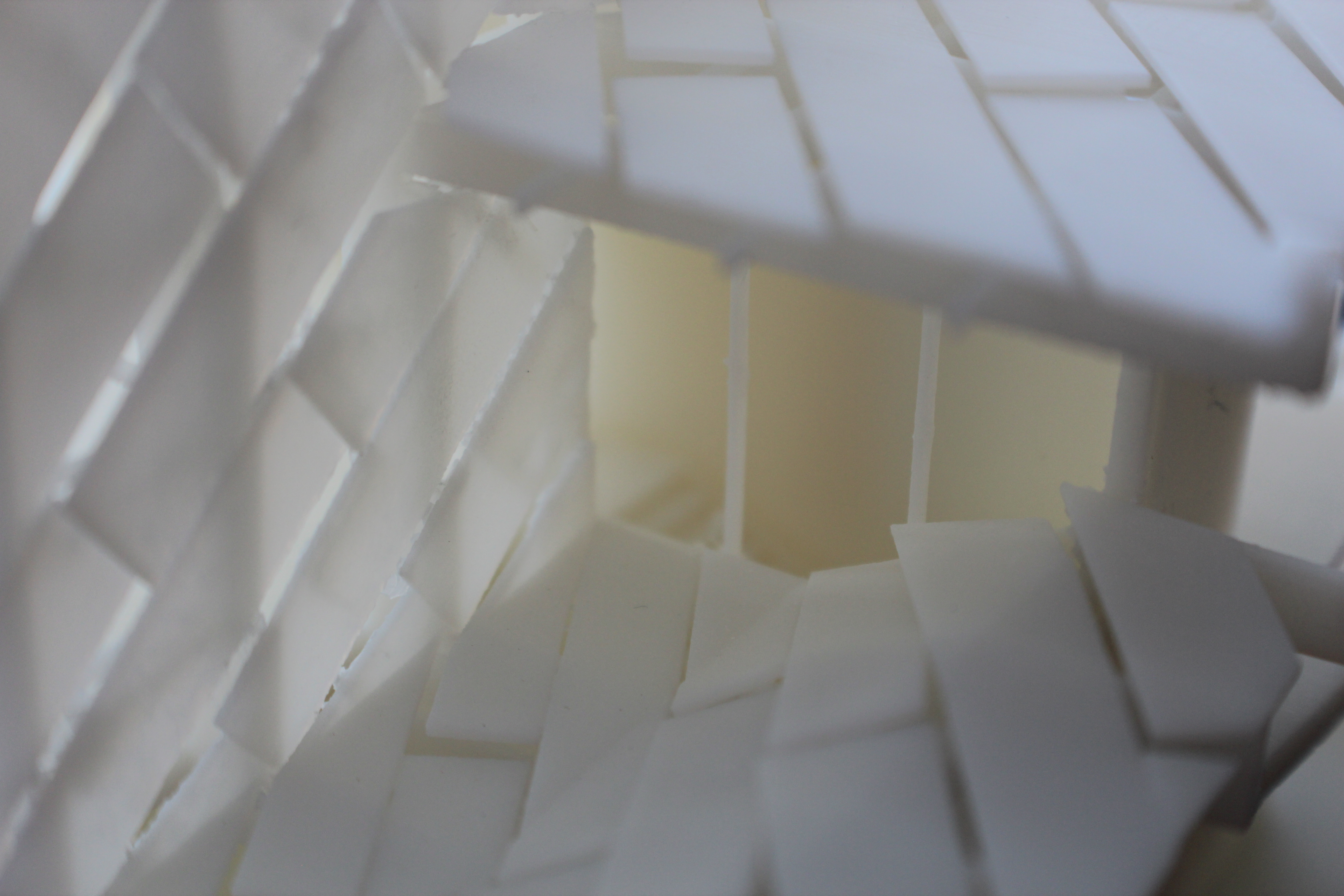 3D printed China House roof 3