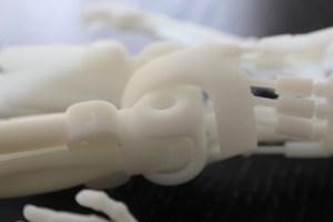 3D printed Robot Leg Join