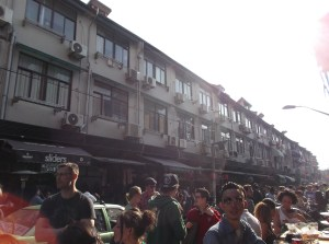 Yongkang, la calle de los bares.