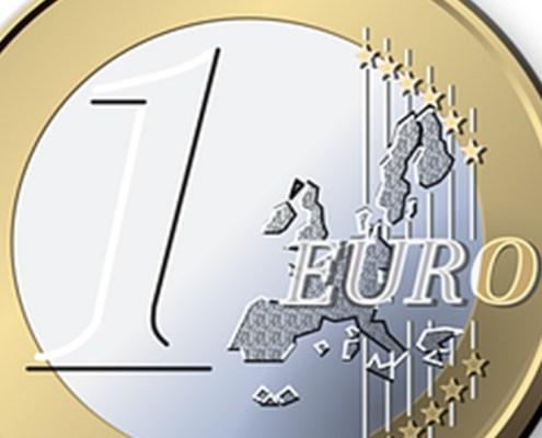L'immagine evidenzia la moneta dell'euro per rappresentare il contenuto di questo articolo che si sofferma per concentrare l'attenzione sulla valutazione del rischio Europa e non solo quindi dei rischi paesi Italia e Spagna