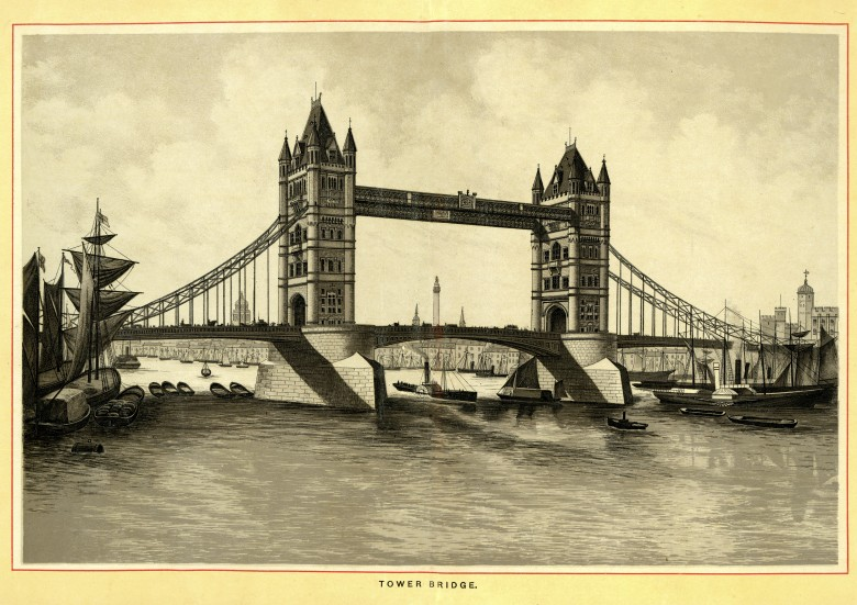 Tower Bridge completed