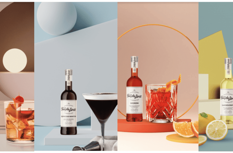 Singapore's Newest Ready-to-Pour Cocktails Temple Street Launched