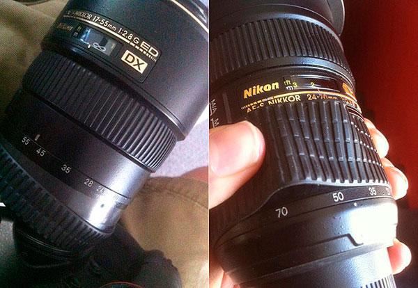lens terpakai