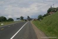 Buggyspur auf dem Highway