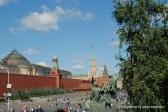 Blick auf den Roten Platz von der Basilius-Kathedrale