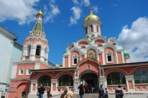 Kasaner Kathedrale Roter Platz