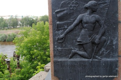 Brücke der Komsomolzen über den Om
