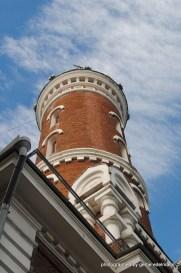 1913 errichteter Feuerwehrturm