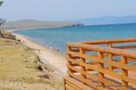 Strandzugang an der Ferienanlage