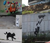 in Wladik gibt es endlich auch streetart zu sehen