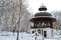 Musikpavillon aus der Zeit der Habsburger Monarchie