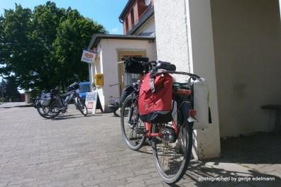 Fahrrad mit Konsum
