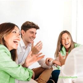 Visitantes da Igreja