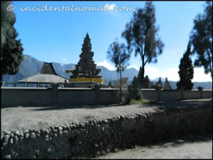 Hindu Temple at the very entrance of Bromo Crater