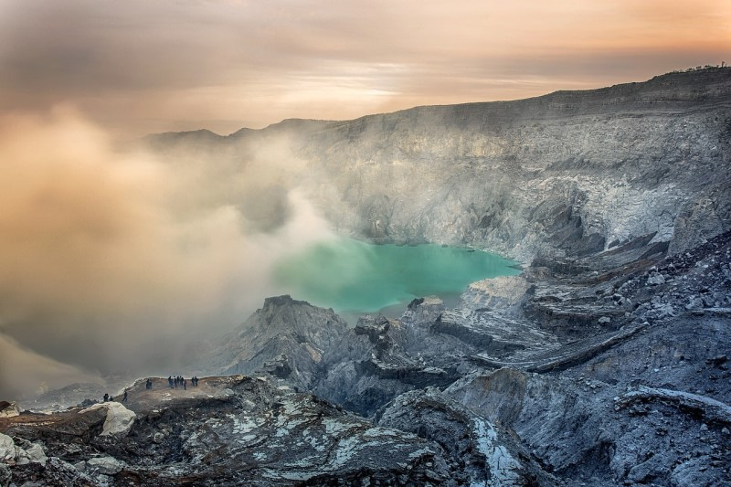 Beautiful Ijen Crater - Image from Pixabay