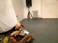 "Jon Konkol, ""Waiting Room"" Photo: Sam Bates"