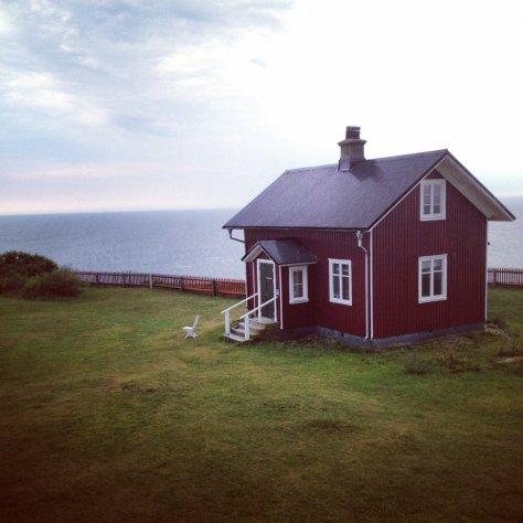Dormire in un faro in Svezia