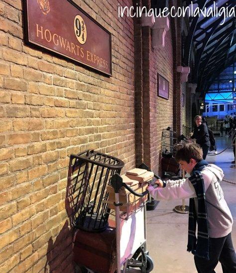 Harry Potter Studios a Londra con bambini
