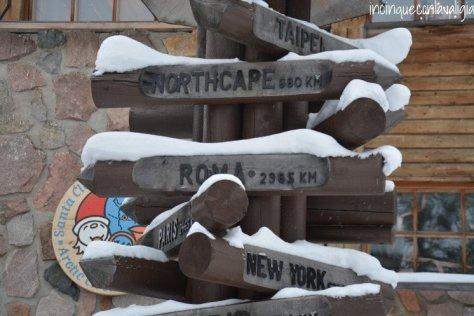 Il vero Babbo Natale in Lapponia distanza da Capo Nord