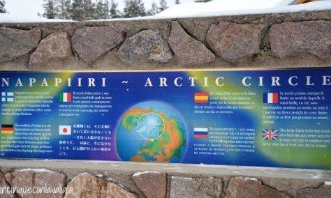 Il vero Babbo Natale in Lapponia il Circolo polare Artico