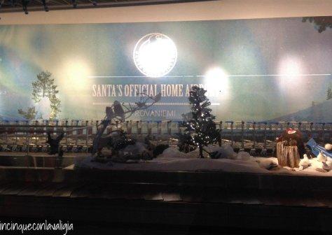 Il vero Babbo Natale in Lapponia -Aeroporto di Babbo Natale