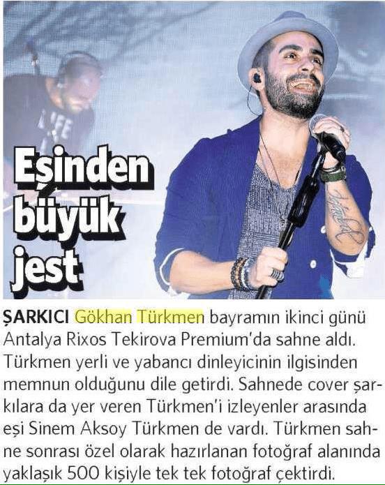 Gökhan Türkmen Haber