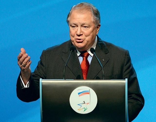 Президент Олимпийского комитета России Виталий Смирнов