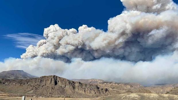 East Troublesome Fire, Oct. 16, 2020