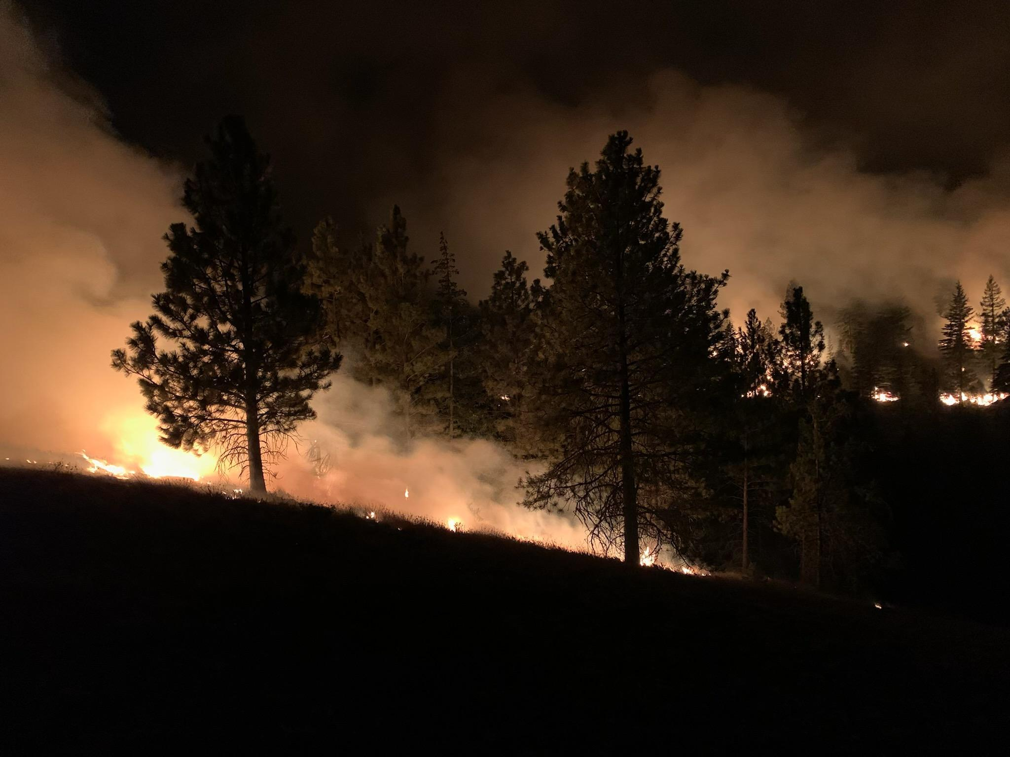 Crews continue to work on nighttime firing operations in Bethel Ridge Area