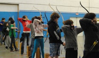 Young archers