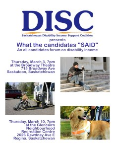 Poster - All candidates forum