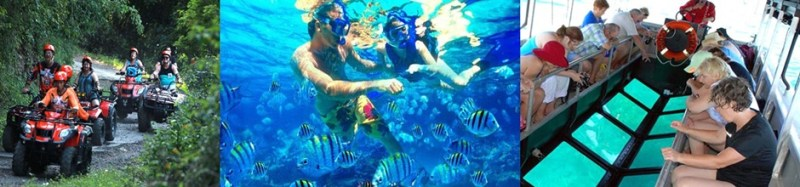Bali ATV Ride and Snorkeling Tour