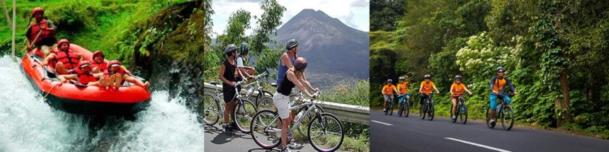 Bali Ayung Rafting and Cycling Tour