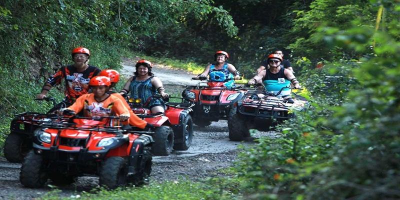 Bali ATV Ride and Tanah Lot Tour