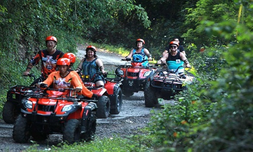 Bali ATV Ride and Tanah Lot Temple Tour
