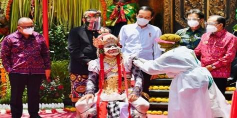 President of Indonesia came to Ubud Bali