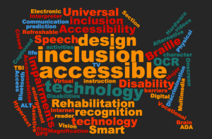 Disability Word Cloud version 1