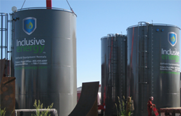 1000 BBL Storage Tanks