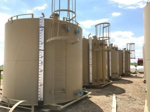 New 200 BBL Single Wall Storage tanks