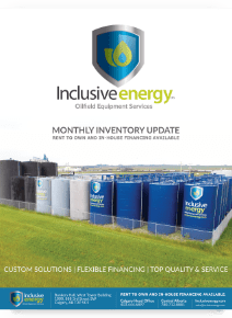 Inclusive Energy Inventory