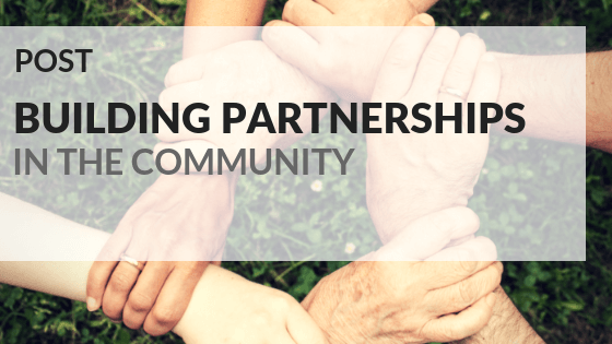 Building partnerships in the community