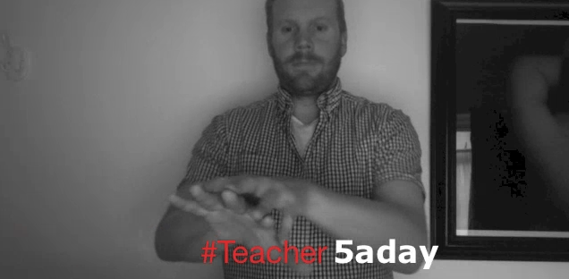 teacher5aday makaton signs