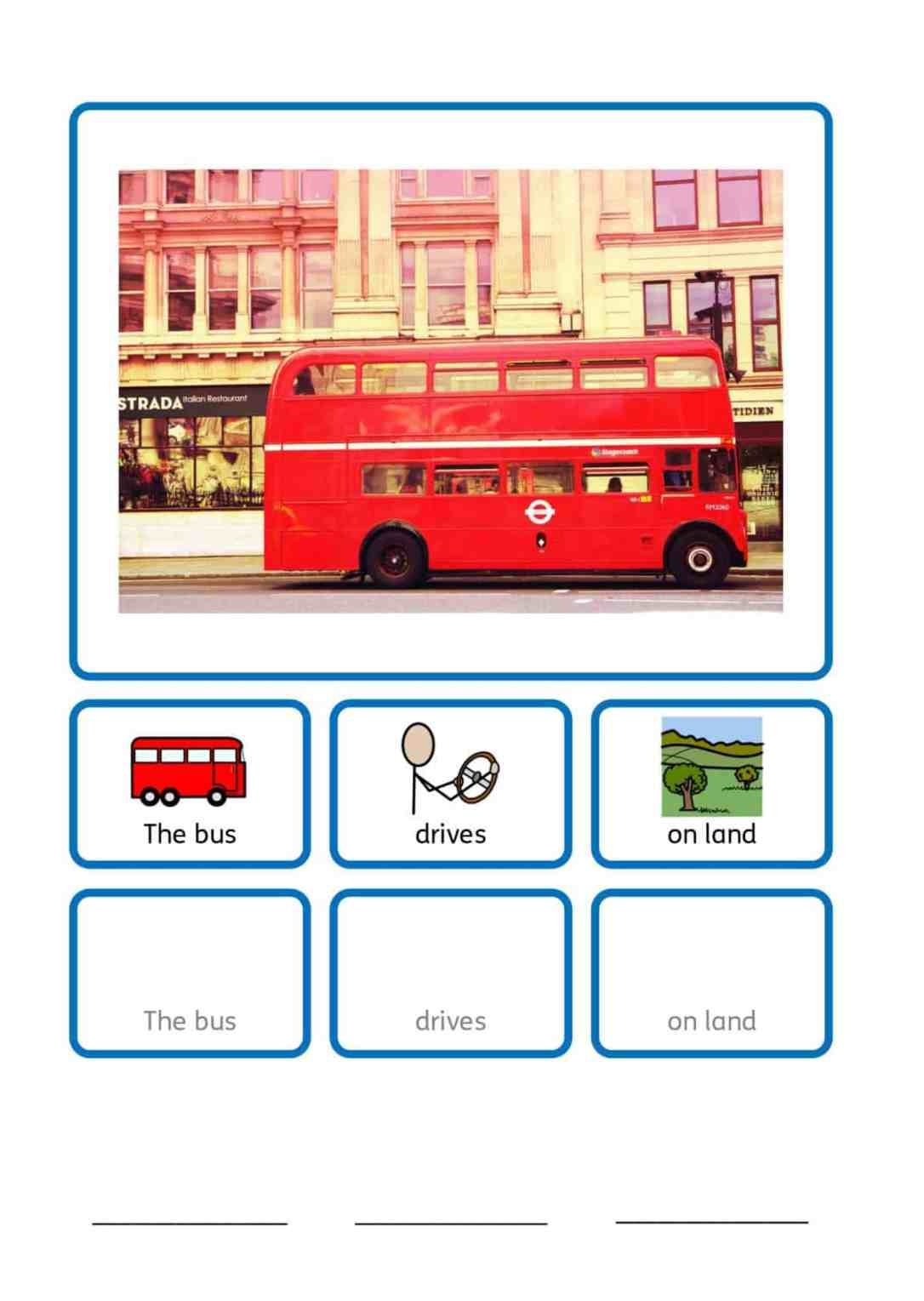 free SEN transport teaching resources