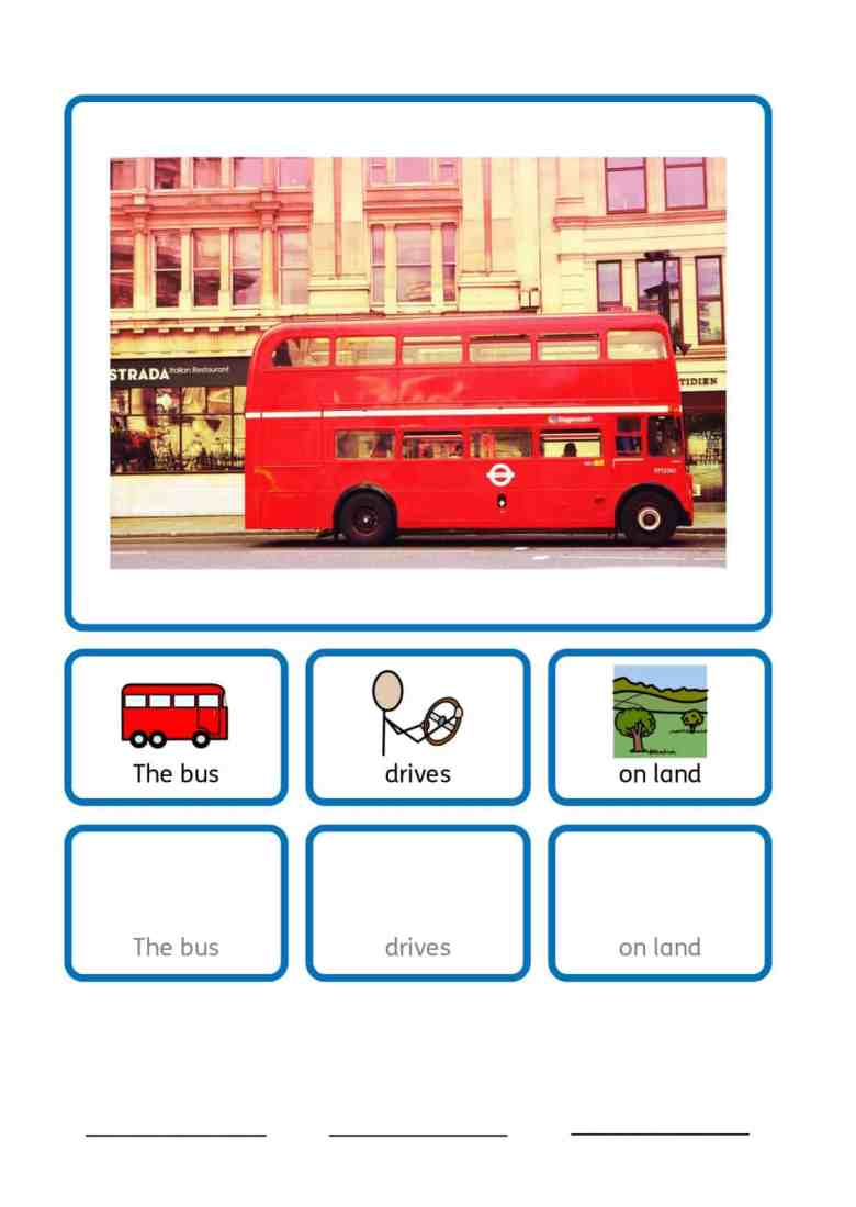 free SEN transport teaching resources