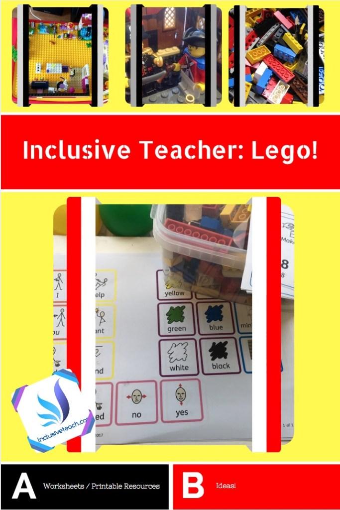 Lego: SEN Teacher for learning in your classroom