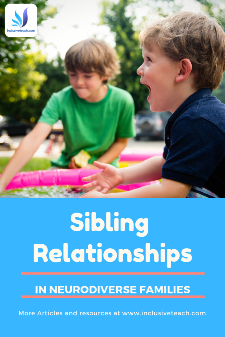 An article on Sibling relationships in Neurodiverse families Autistic research