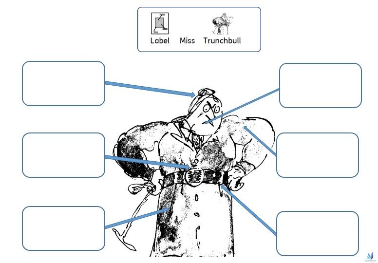 Roald Dahl worksheet special education